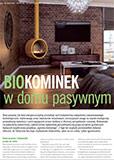 Biokominek w domu