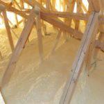 Dom pasywny - ocieplanie stropodachu